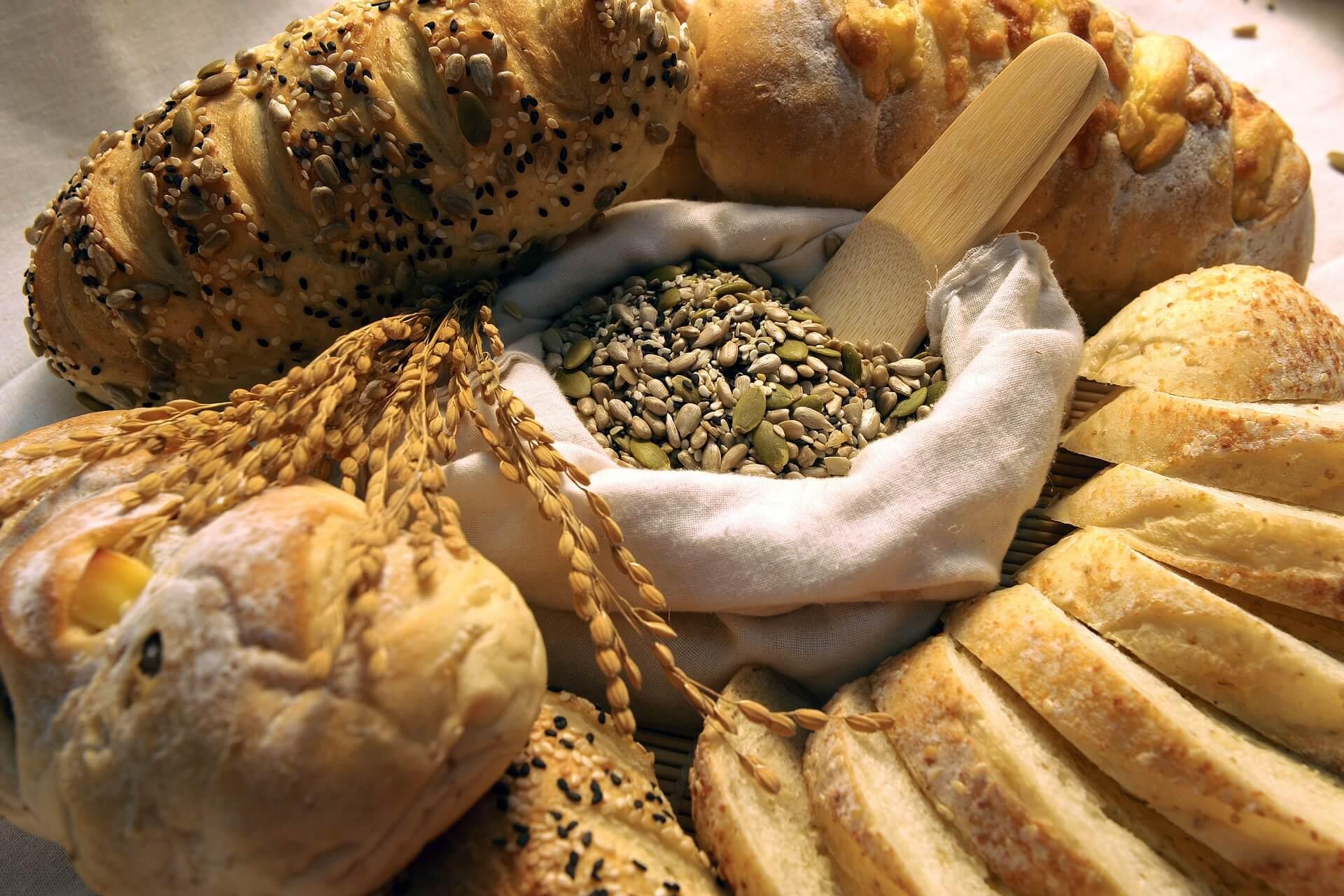 pasta e pane nella dieta